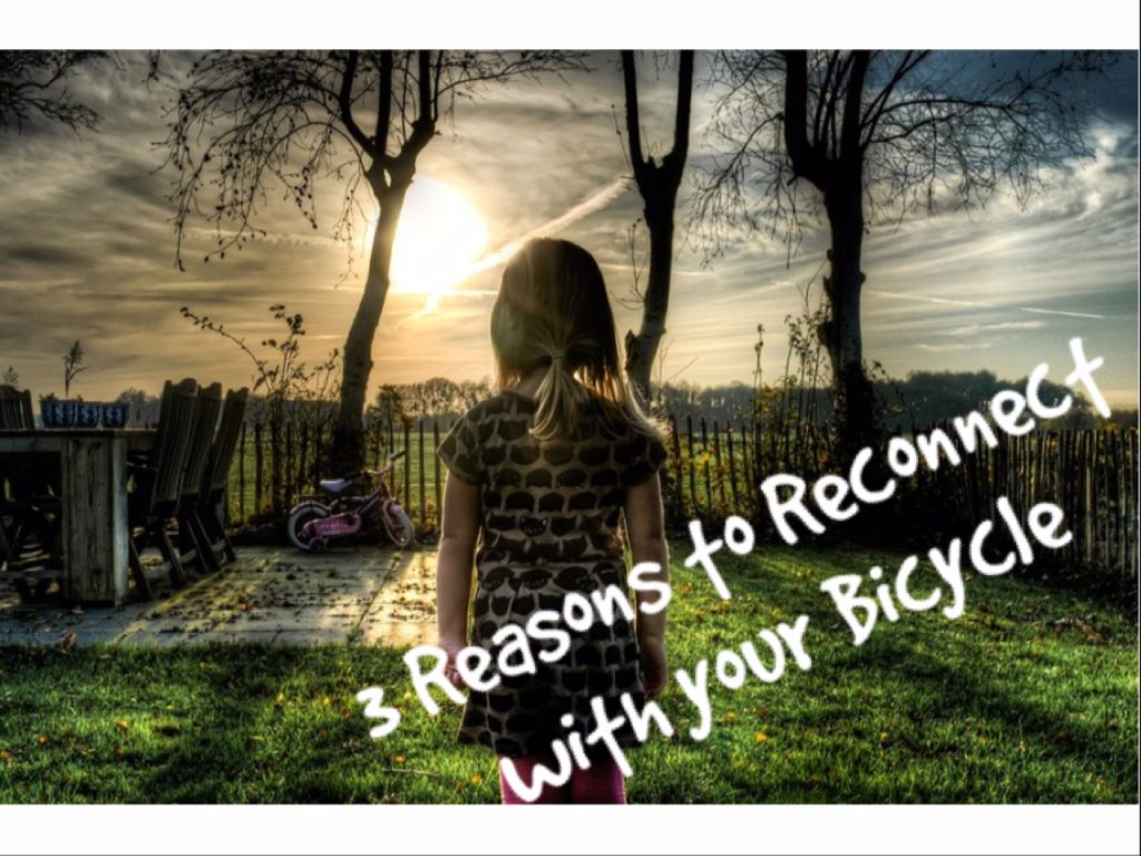 3 Reasons to Reconnect with Your Bicycle