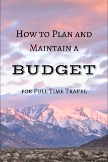 How to Plan and Maintain a Budget for Open Ended Travel