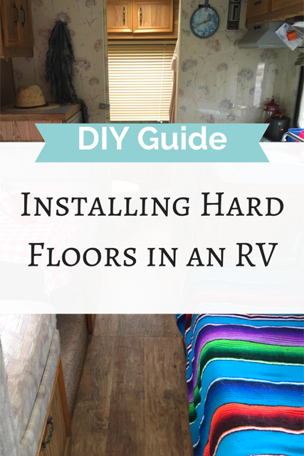How to Install a Hard Floor in a Motorhome
