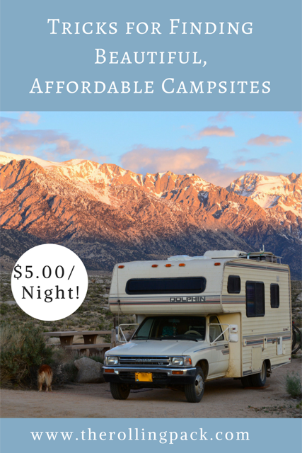 Tricks for Finding Beautiful, Affordable Campsites