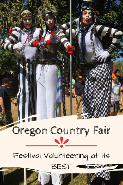 The Oregon Country Fair: Festival Volunteering at its Best