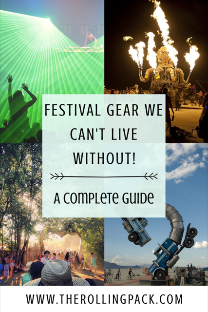 Festival Gear we Can't Live Without