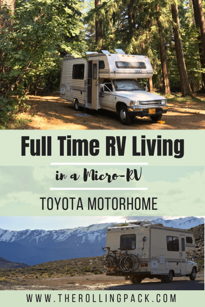 Why we Chose a Toyota Motorhome