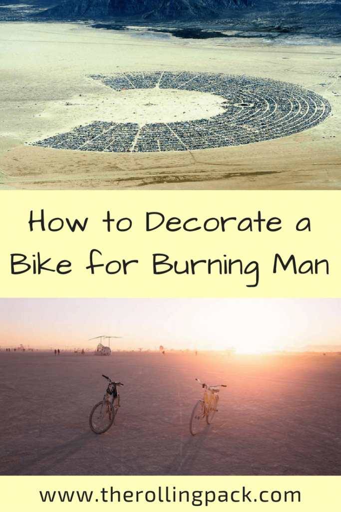 How to Decorate a Bike for Burning Man