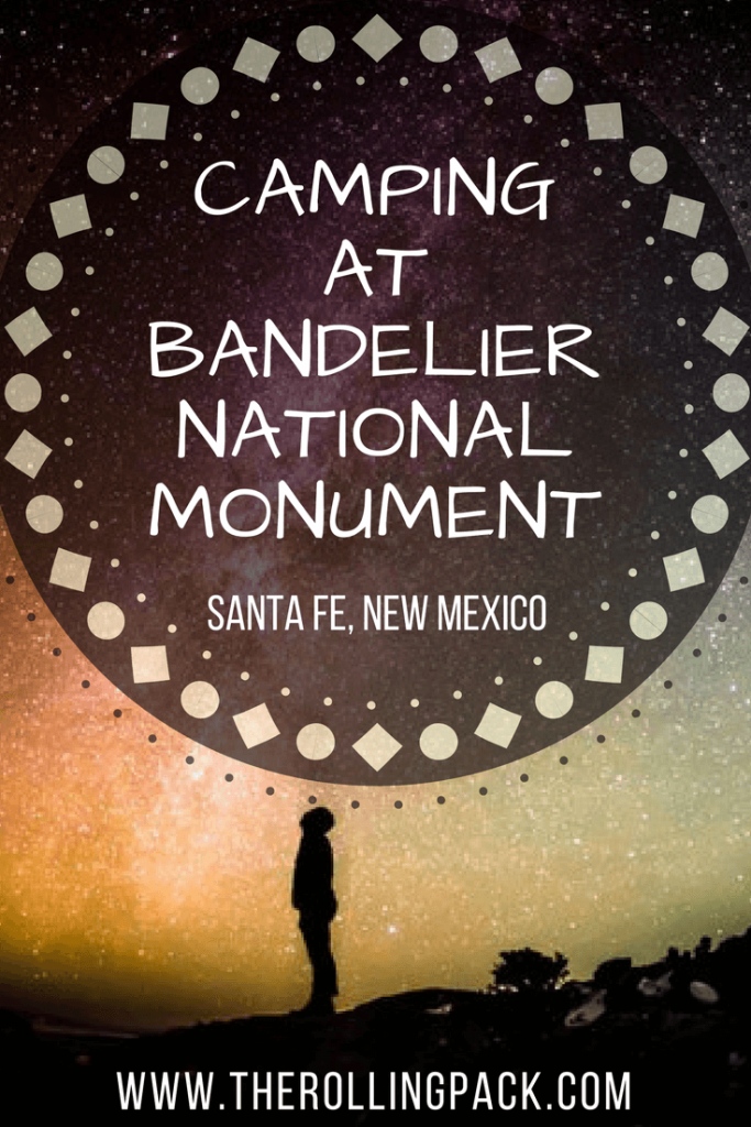 Camping at Bandelier National Monument