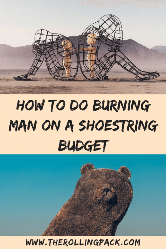 How to do Burning Man on a Shoestring Budget