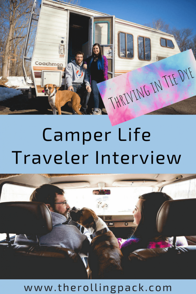 Toyota RV Traveler Spotlight: Thriving in Tie Dye