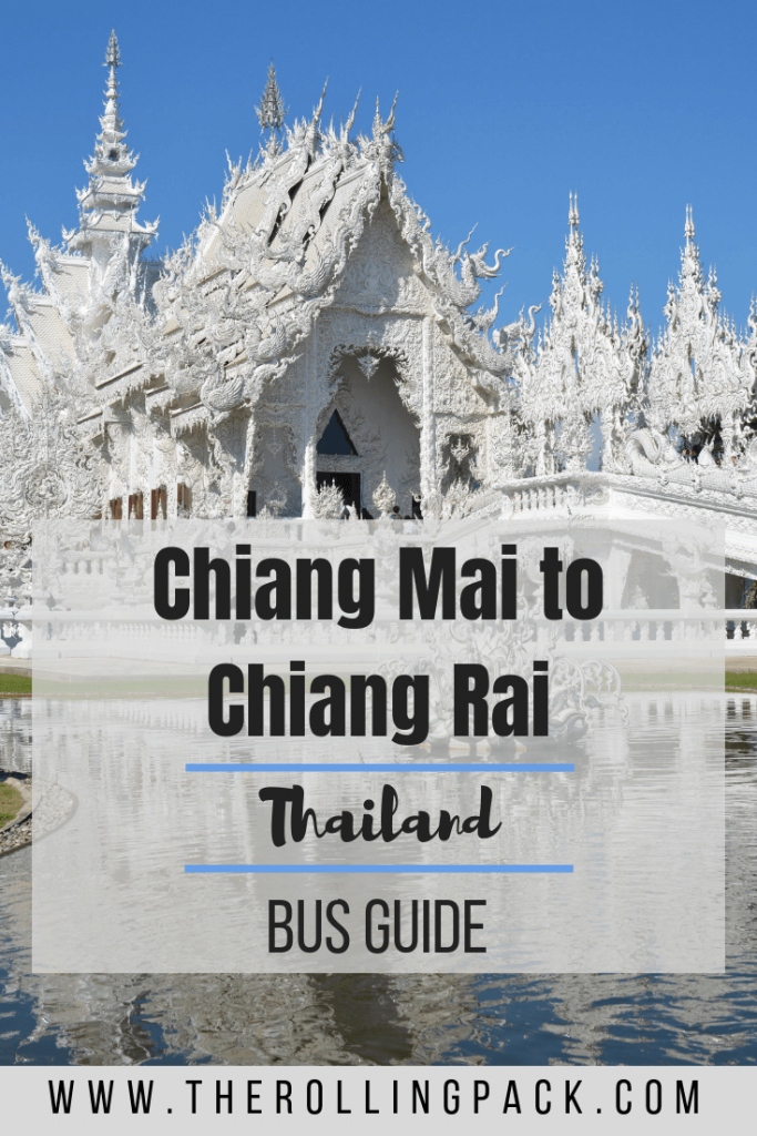 Taking the Chiang Mai to Chiang Rai Bus