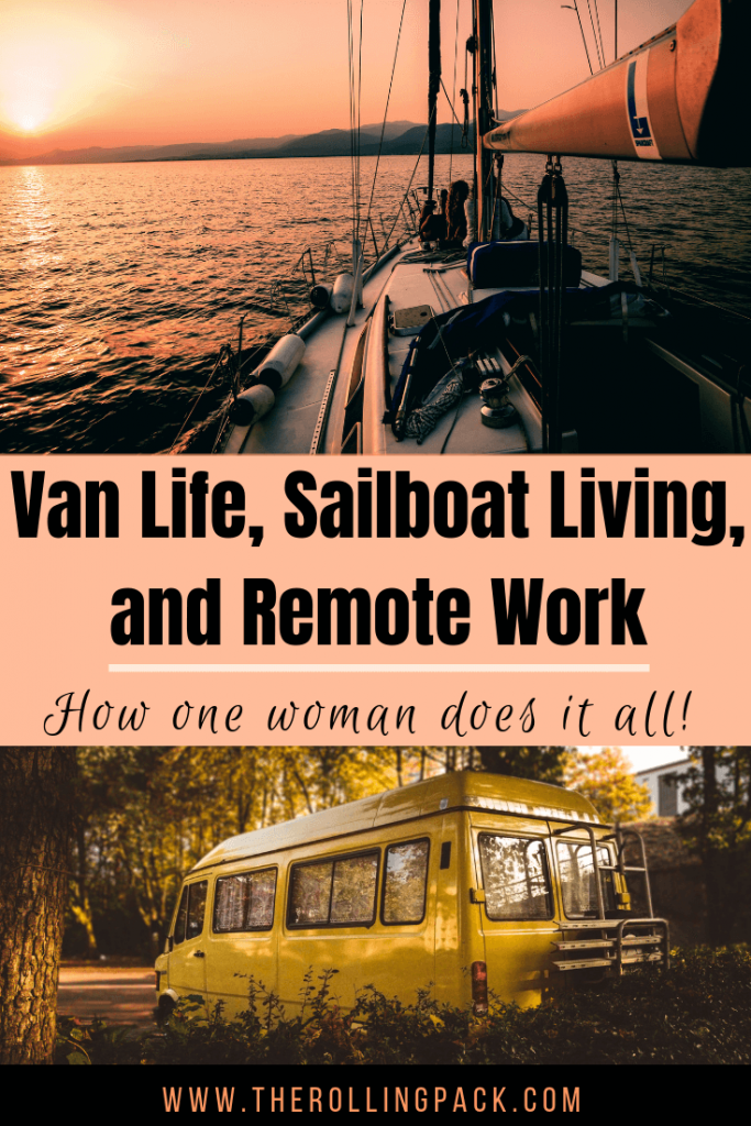 Van Life and Sailboats: An Interview with Kristin Hanes