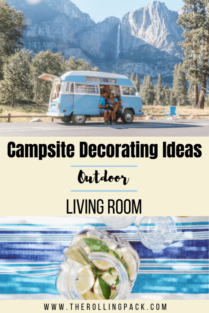 Campsite Decorating Ideas: The Outdoor Living Room