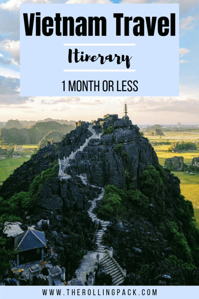A Vietnam Itinerary: 1 Month or Less