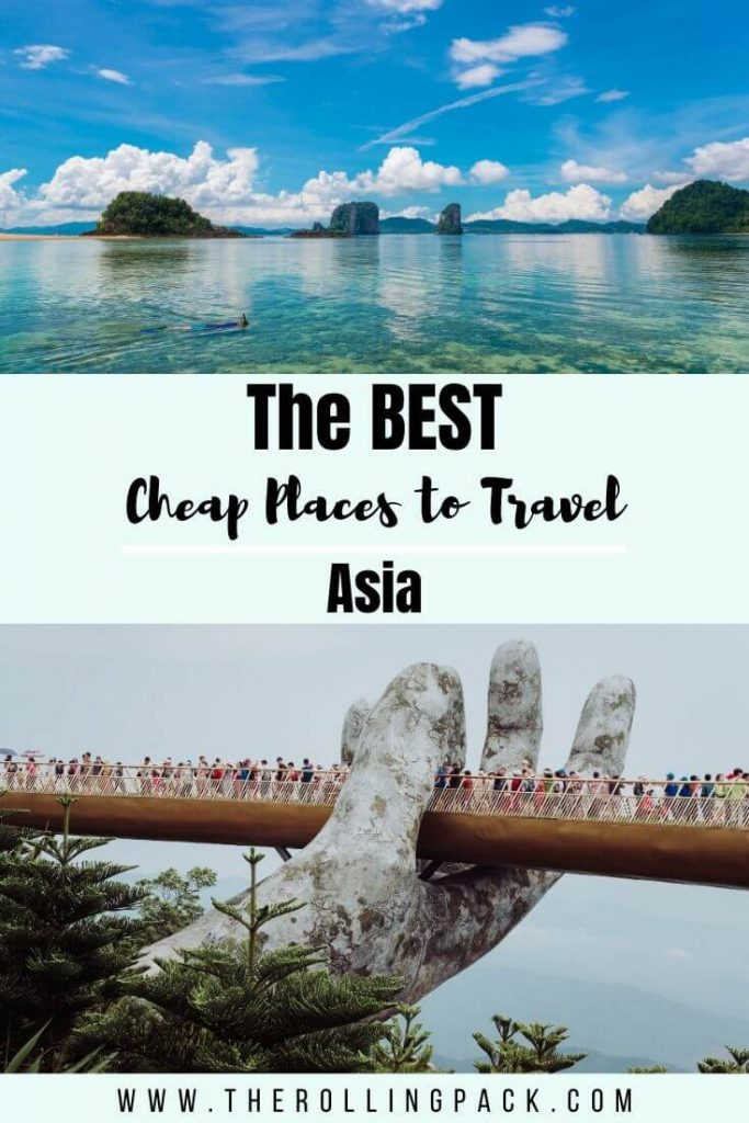 The best cheap places to travel in asia