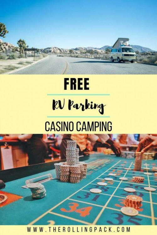 Free RV Parking Pin