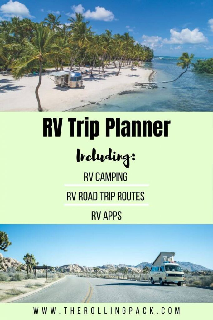 RV Trip planner new pin