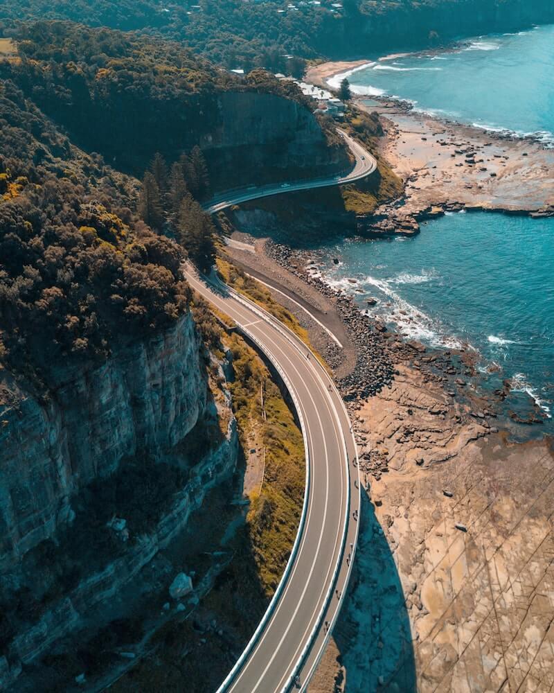Australia road trip route
