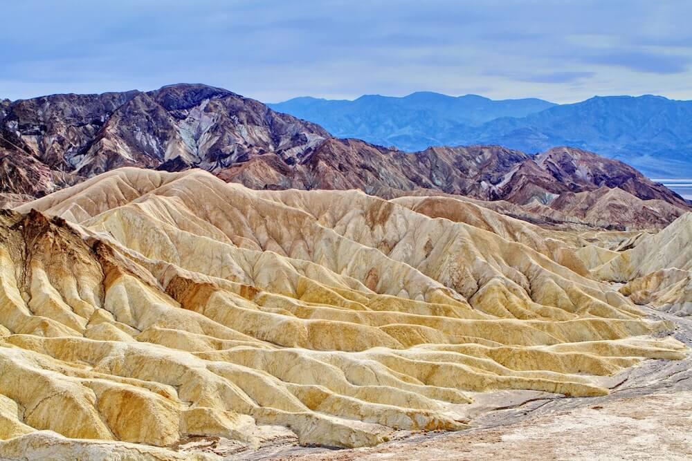 USA Death Valley National Park vista
