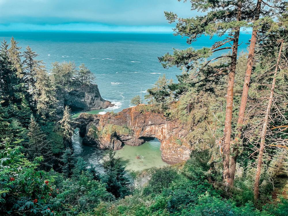 Pacific Coast Bike Route scenic viewpoint